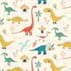 French Terry Dinosaurier - Produktbild 1